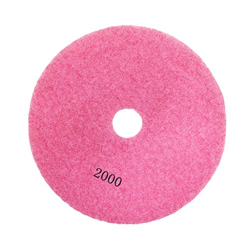 3'', 4'' Diamond Polishing Pad Grinding Disc for Granite Marble Concrete Stone - 2000#, 3 3' Diamond Polishing Pad