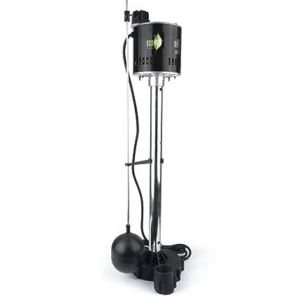 516PsZX1mJL._SX425_ eco flo products epc50 pedestal sump pump with vertical float switch