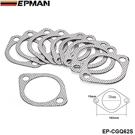 "EPMAN Exhaust Pipe To Muffler Gasket 3"" CATBACK for Subaru IMPREZA WRX STI GT Turbo"