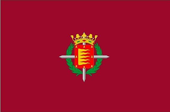 magFlags Bandera XL Ciudad de Valladolid, en Valladolid España | Bandera Paisaje | 2.16m² | 120x180cm: Amazon.es: Jardín