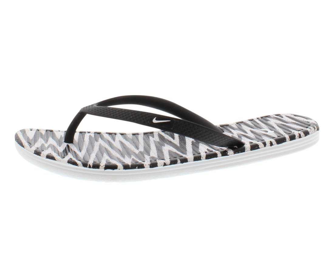 654f35f0446a Amazon.com  Nike Solarsoft Thong II Print Women s Shoes Size 5  Everything  Else