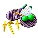 Kingfisher Unisex SF2 Super Sport Family 2 Game Tennis Set, Purple, NA