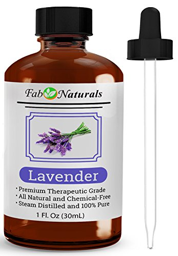French Lavender Essential Mist - French Lavender Essential Oil, Premium Quality, 100% Pure Lavender oil from France, for Diffuser, 1 Oz - by Fab Naturals