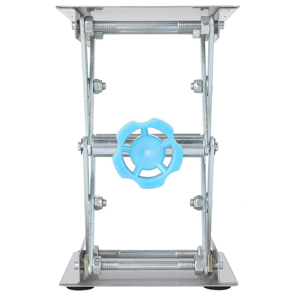 Laboratory Lifting Platform, Manual Adjustment Stainless Steel Lab Lifting Instrument, 45mm to 150mm