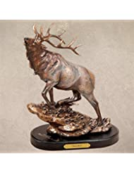 Elk Herd Bull Marc Pierce Handcast Big Sky Carvers Sculpture