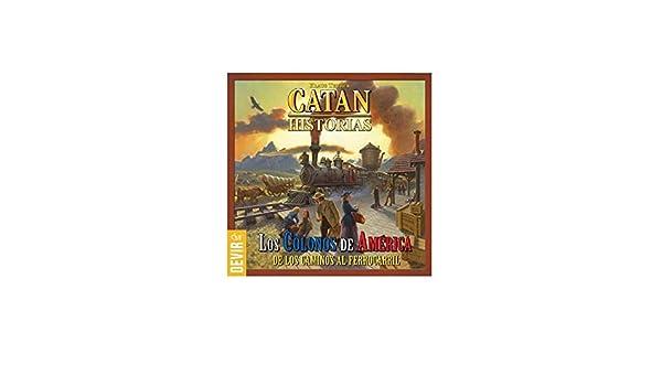 LOS COLONOS DE AMERICA *CATAN HISTORIAS*: Amazon.es ...