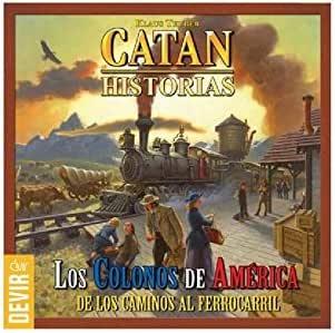 LOS COLONOS DE AMERICA *CATAN HISTORIAS*: Amazon.es: Juguetes y juegos