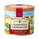 Le Saunier De Camargue Fleur De Sel Sea Salt, 4.4 Ounce Canisters (6 PACK)