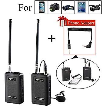 Wireless Microphone System For Iphone : saramonic sr wm4c wireless lavalier microphone system for ios smartphone iphone 8 8 ~ Vivirlamusica.com Haus und Dekorationen