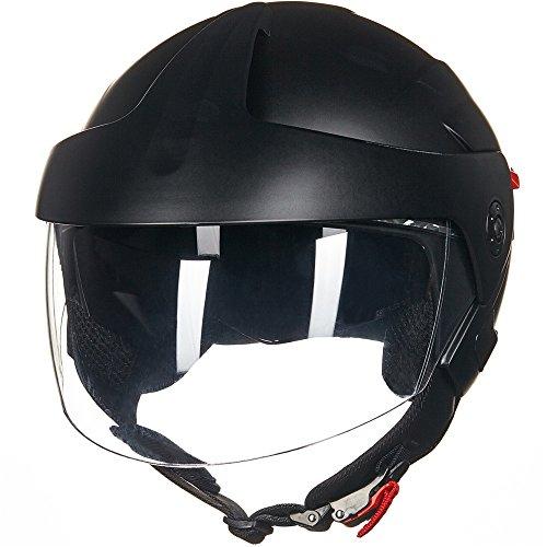 ILM Motorcycle Helmets ATV Dirt Bike Cool Open Face 3/4 ...
