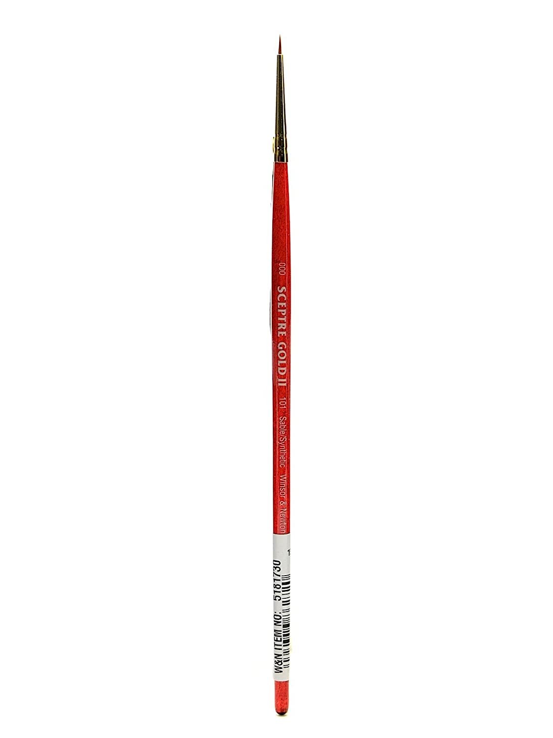 Winsor and Newton Sceptre Gold II Brush Designers Round-Short Handle 4