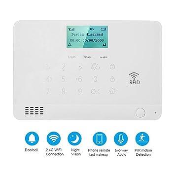 Sistema Inalámbrico Alarma Antirrobo Gsm Y Wifi, Sistema Alarma ...