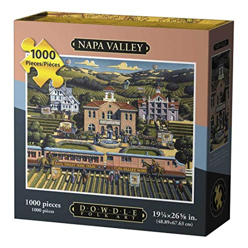 (Dowdle Jigsaw Puzzle - Napa Valley - 1000 Piece )