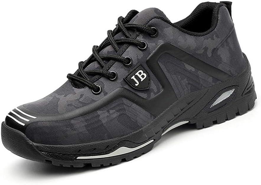 Zapatos de Trabajo Seguros Puntera de Acero Botas de Seguridad Ligeros Respirables Primavera Verano Zapatillas de Protection de Sécurité Unisex para Industrial y Deportiva: Amazon.es: Zapatos y complementos