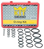 O Ring Kit Assortment Set, Assorted Buna-N, 70A Durometer, 382 Pieces, 30 O-Ring Sizes, SAE, Orings Pack