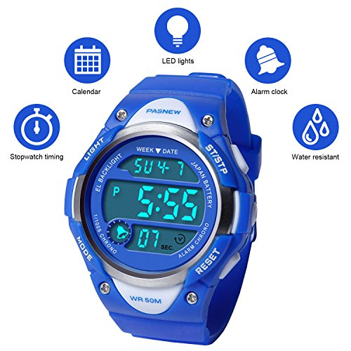 Kids Boys Watches Waterproof Digital Sports Toddle Watch for Youth (Performance Digital Sport Watch)