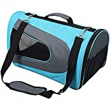 CutePaw Airline Approved Soft-sided Pet Carrier Portable Travel Dog/Cat Duffel Bag