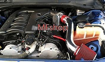 Red 2006-2010 Dodge Charger 3.5L V6 SE SXT Air Intake Kit