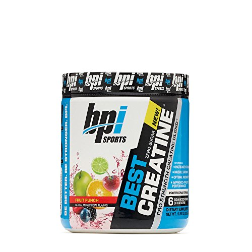 Best Creatine 300 g Fruit Punch by BPI Sports