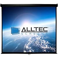 Alltec Screens 150 Diag. (74x131) Manual Projector Screen, HDTV Format