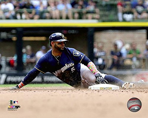 Milwaukee Brewers Mlb Furniture (Jonathan Villar Milwaukee Brewers 2016 MLB Action Photo (Size: 8