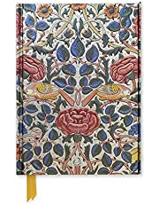 William Morris: Rose (Foiled Journal)