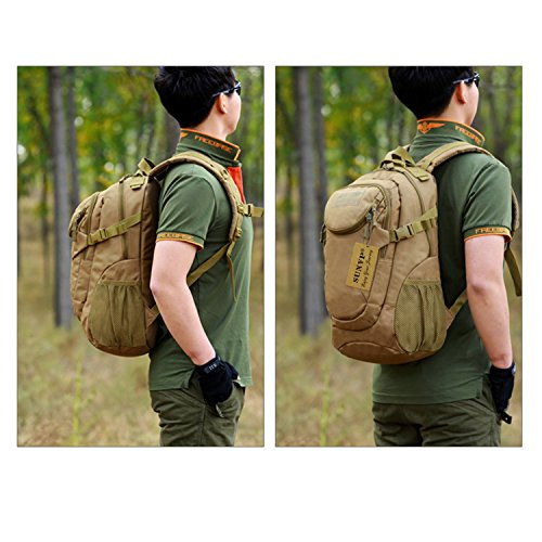 40140d08be01 Protector Plus Military MOLLE Backpack Rucksack Gear Tactical Assault Pack  Student School Bag 25L for Hunting