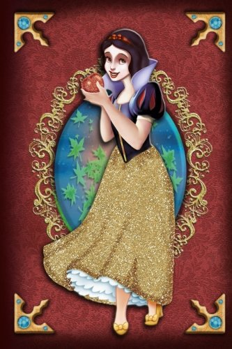 Snow White - Poison Apple - Disney Princess Fairytale Journal Notebook: Disney Princess Lined Journal A4 Notebook, for school, home, or work, 150 Pages, 6' x 9' (15.24 x 22.86 cm), Durable Soft Cover