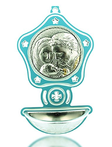 Children's Holy Water Font: Holy Family - Perfect Gift for Christening & Baptism!