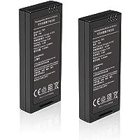 BTG 2PCS 3.8V 1100mAh Intelligent Flight Battery for DJI Tello Drone - Rechargeable Lithium-ion Battery