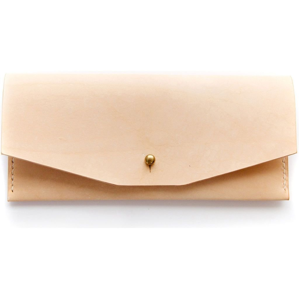Half Light Bindery Ladies Wallet | Natural