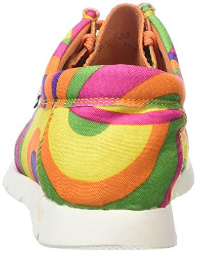 Sioux Grashopper-D-141 - Mocasines, Mujer Multicolor (Lollipop)