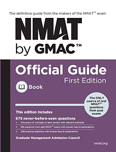 Pdf Education NMAT by GMAC Official Guide ( Global 1st Edition )