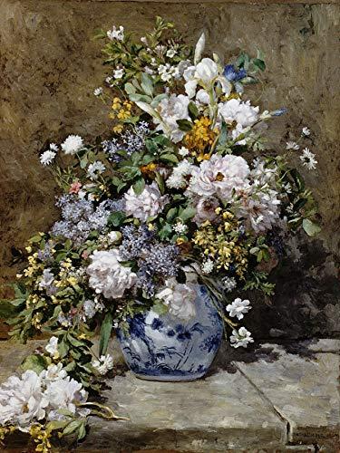 Pierre-Auguste Renoir Spring Bouquet 30