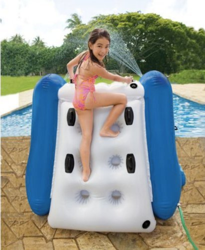 Inflatable Water Slide Dubai: Kids Inflatable Water Slide For Pool And Poolside Splash
