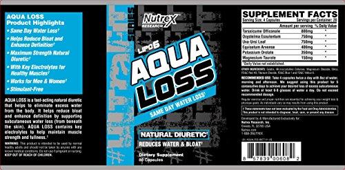 Nutrex Research Lipo 6 Aqua Loss 80 caps