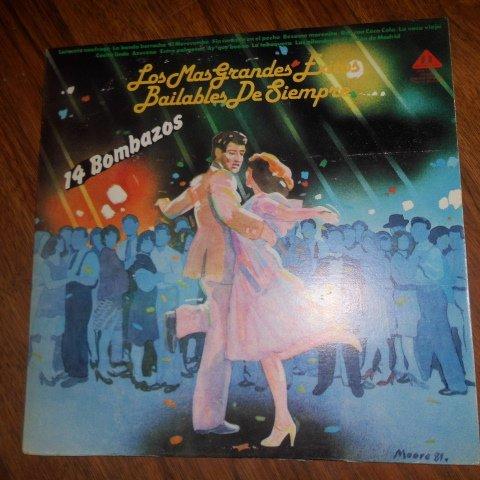 Los Mas Grandes Exitos Bailables De Siempre  14 Bombazos    Discomoda    Vinyl