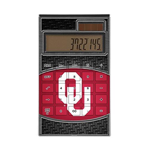 Oklahoma Sooners Desktop Calculator NCAA