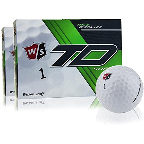 Wilson Staff True Distance Soft Golf Balls - 2 Dozen