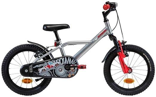 KXBYMX Bicicleta Infantil niños en Bicicleta Pedal de la Bicicleta de niños y niñas 16