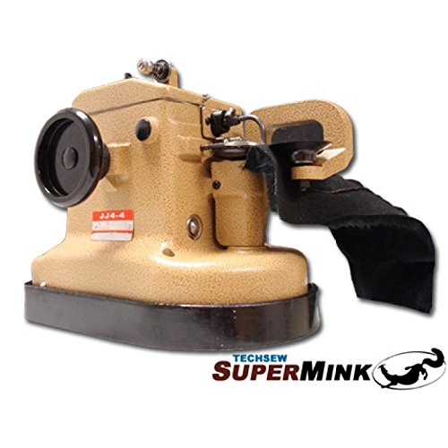 TechSew 4-4 Supermink Industrial Fur Sewing Machine with Assembled Table & Servo Motor