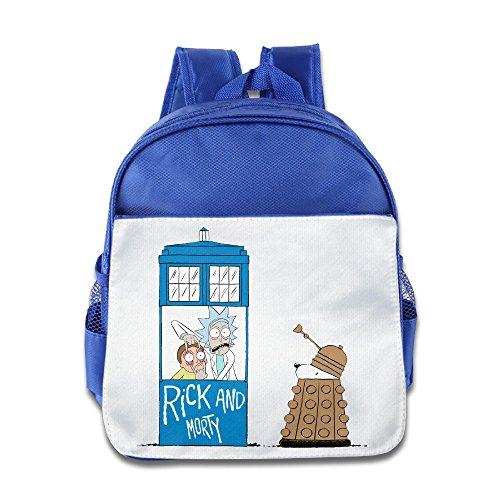 (Ysov Rick Dog Morty Child Preshool Backpack RoyalBlue)