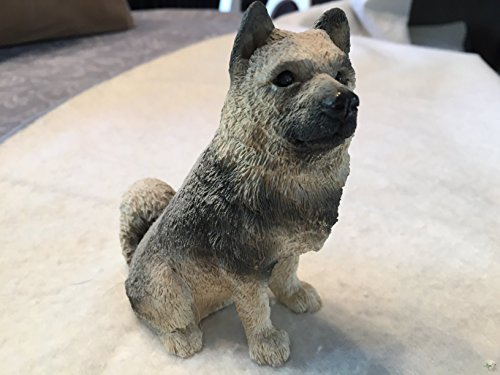 Stone Critters Elkhound Stone Critters Dog Figurine