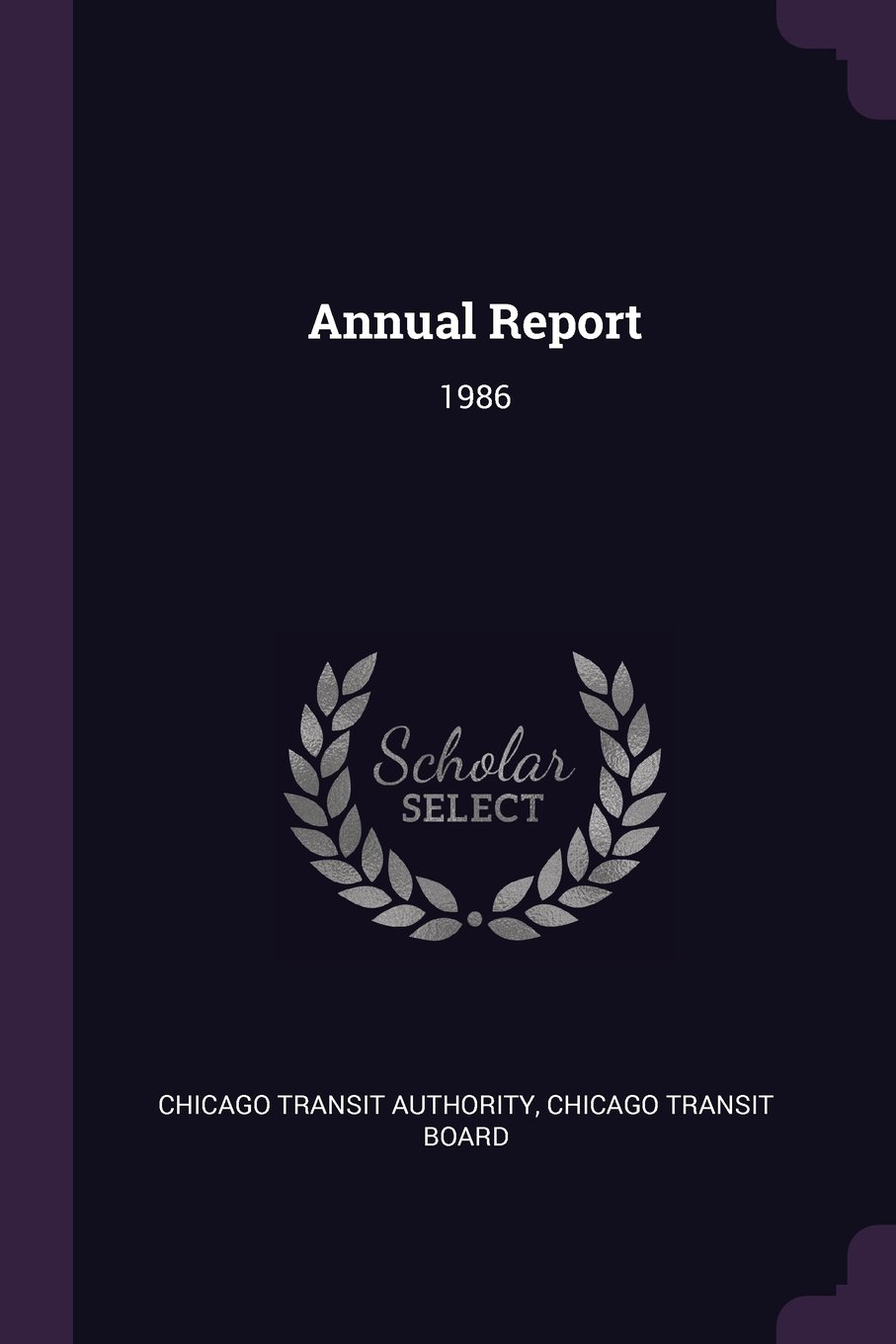 Read Online Annual Report: 1986 pdf epub