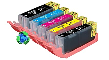 5 Cartuchos de Tinta compatibles para impresoras Canon PGI ...