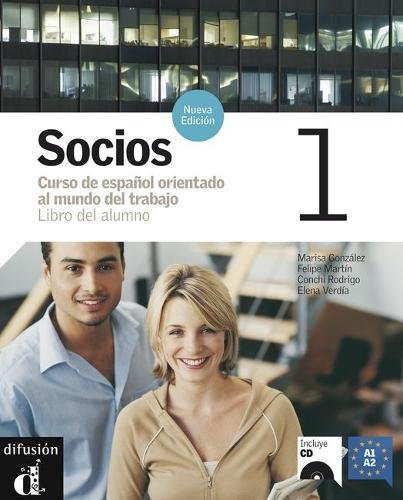 Socios 1, libro del alumno +CD (Spanish Edition)