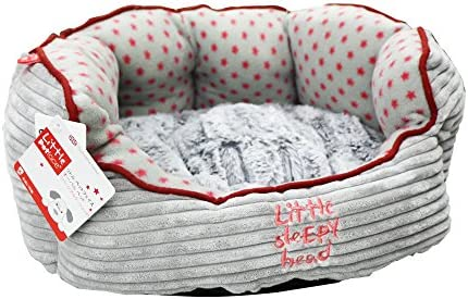 Amazon.com: Poco Petface – Cama ovalada para perro cachorro ...