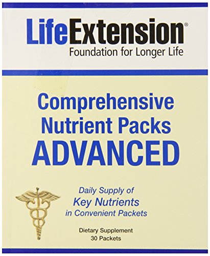 Life Extension Nutrient Advanced Packs