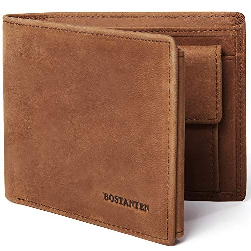BOSTANTEN Leather Wallet Blocking Trifold product image