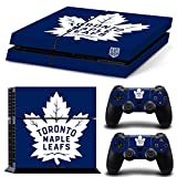 Ps4 Playstation 4 Console Skin Decal Sticker Toronto Maple Leafs + 2 Controller Skins Set
